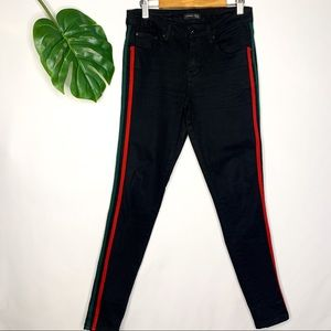 Side Lines Skinny Jeans Track Pants